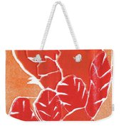 I Was Born In A Mine Woodcut 38 Weekender Tote Bag