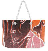 I Was Born In A Mine Woodcut 62 Weekender Tote Bag