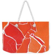 I Was Born In A Mine Woodcut 69 Weekender Tote Bag