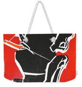 I Was Born In A Mine Woodcut 7 Weekender Tote Bag