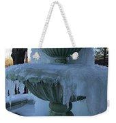 Ice Fountain Weekender Tote Bag