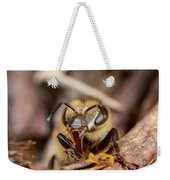 If You Keep Making That Face... Weekender Tote Bag by Brian Hale