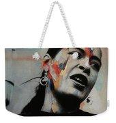 I'll Be Seeing You - Billie Holiday  Weekender Tote Bag