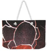 Image 23 I Was Born In A Mine Woodcut Weekender Tote Bag
