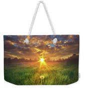 In The Arms Of An Angel Weekender Tote Bag