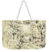 In The Fields At Ennery, 1875 Weekender Tote Bag