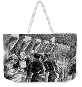 In The Hospital Sketch Weekender Tote Bag