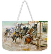In Without Knocking Weekender Tote Bag