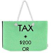 Income Tax Weekender Tote Bag