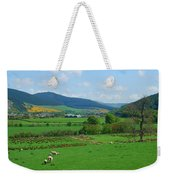 Innerleithen And Tweed Valley Looking East Weekender Tote Bag