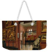 Interior View Of The Metropolitan Museum Of Art When In Fourteenth Street  Weekender Tote Bag