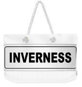 Inverness City Nameplate Weekender Tote Bag