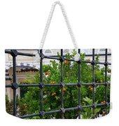 Iron Fencing Weekender Tote Bag