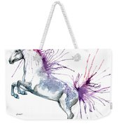Is  It A Horse Or A Peacock Weekender Tote Bag