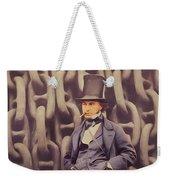 Isambard Kingdom Brunel, Genius Weekender Tote Bag