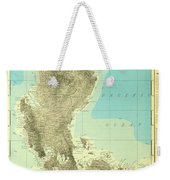 Island Of Luzon - Old Cartographic Map - Antique Maps Weekender Tote Bag