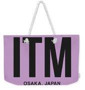 Itm Osaka Luggage Tag I Weekender Tote Bag