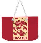 Ivan Drago Retro Propaganda Weekender Tote Bag
