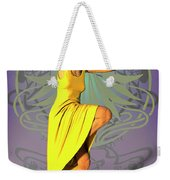 Jacinta In Yellow Weekender Tote Bag