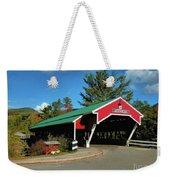 Jackson Covered Bridge Weekender Tote Bag by Debbie Stahre