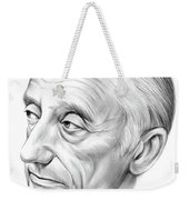 Jacques-yves Cousteau Weekender Tote Bag