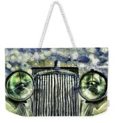 Jaguar Car Van Gogh Weekender Tote Bag