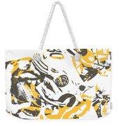 James Connor Pittsburgh Steelers Pixel Art 3 Weekender Tote Bag