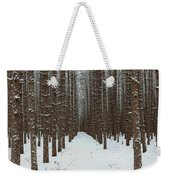 January Forest Weekender Tote Bag