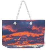 January Sunset - Vertirama 3 Weekender Tote Bag
