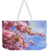 Japanese Cherry Weekender Tote Bag