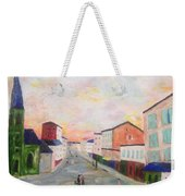 Japanese Colorful And Spiritual Nuance Of Maurice Utrillo Weekender Tote Bag