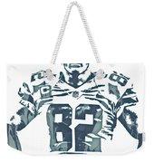 Jason Witten Dallas Cowboys Pixel Art 22 Weekender Tote Bag