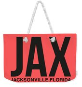 Jax Jacksonville Luggage Tag I Weekender Tote Bag