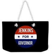 Jenkins For Governor 2018 Weekender Tote Bag