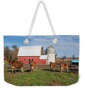 Jersey Steer Is A Curious Beast Weekender Tote Bag