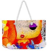 Jessica Rabbit Pop Weekender Tote Bag by Al Matra