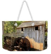 John Cable Mill In Cades Cove Historic Area In Smoky Mountains Weekender Tote Bag