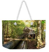 John Cable Mill In Cades Cove Historic Area In The Smoky Mountains Weekender Tote Bag