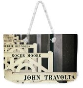 John Travolta In Deauville Weekender Tote Bag