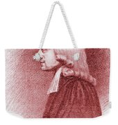 John Wesley, Anglican Minister And Christian Theologian Weekender Tote Bag
