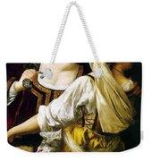 Judith And Her Maidservant 1613 Weekender Tote Bag