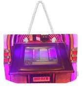 Jukebox Hero Weekender Tote Bag
