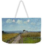 June Morning, View Over The Hills Over Pontoise, 1873 Weekender Tote Bag