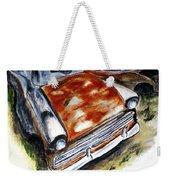 Junk Car No.10 Weekender Tote Bag by Clyde J Kell