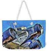 Junkers Ju 52 Art Weekender Tote Bag