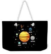 Jupiter Planet Universe Astronomy Weekender Tote Bag