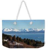 Kachemak Bay And Homer Alaska Weekender Tote Bag