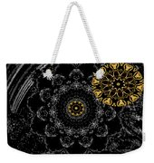 Kaleidoscope Moon For Children Gone Too Soon Number 2 - Faces And Flowers Weekender Tote Bag