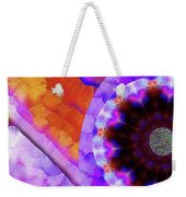 Kaleidoscope Moon For Children Gone Too Soon Number - 5 Flame And Flower  Weekender Tote Bag