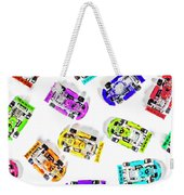 Karting Patterns Weekender Tote Bag